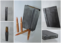 REPRODUCTION Chargeur 20 Coups De FM BAR 1918A2 Avec Cartouche 30.06mm En Résine - Militari