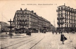 V6179 Cpa 75 Paris - Place Rambouillet - Arrondissement: 12