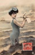 THEME BAINS DE MER / Carte Fantaisie - Femme - Maillot De Bain - Other