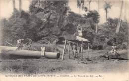 THEME BOIS EXPLOITATION / Congo - Le Travail Du Bois - Scieurs De Long - Congo Français - Autres