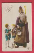 Vive St-Nicolas / Sint Niklaas / Santa Claus ... Enfants ... Jouets , Poupée  -192? ( Voir Verso ) - Saint-Nicolas