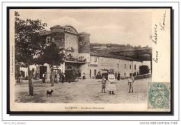 CPA Ste Croix En Jarez Ancienne Chartreuse, Hotel Pitiot, Diligence, Animée, J Gonin, Dos Simple, Voyagé1905 - France