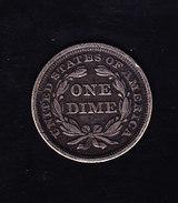 USA KR CAT  KMA63.2 1856 XF Silver  (U27) - Federal Issues