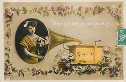 A-17-1354 :  LE PHONOGRAPHE MUSIQUE MECANIQUE - Postcards