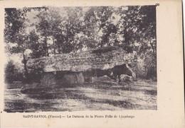 SAINT-SAVIOL. - Le Dolmen De La Pierre Folle De Limalonge - Frankreich
