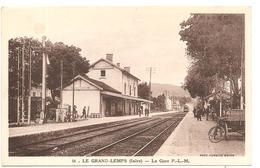 LE GRAND LEMPS  ( Isere )  LA GARE P L M - Francia