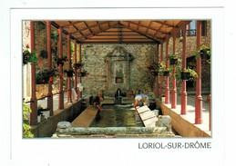 14099  CPM  LORIOL Sur DROME  : Le Lavoir  ,  ACHAT DIRECT ! - France