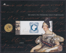 PORTUGAL 2003 HB-194 USADA (1º DIA) - Blocks & Sheetlets