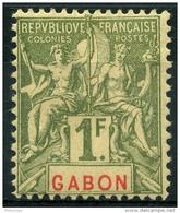 Gabon (1904) N 30 * (charniere)