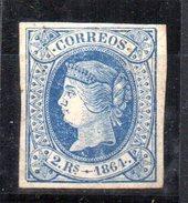 Sello Nº 68  España - 1850-68 Kingdom: Isabella II