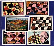 Chess Echecs Notgelds Germany Stroebeck 6 Pieces - [ 4] 1933-1945 : Terzo  Reich