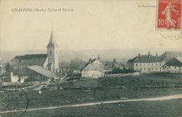 25 CHAFFOIS / Eglise Et Mairie / - France
