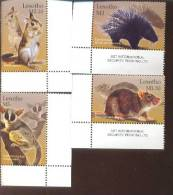 LESOTHO   1338-1  MINT NEVER HINGED SET OF STAMPS ANIMALS - WILDLIFE  # S-630   ( - Unclassified
