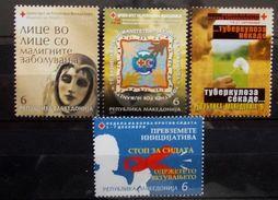 Macedonia 2007 Charity Stamps MNH - Macédoine