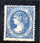 Sello Nº Telegrafos 14  España - 1850-68 Kingdom: Isabella II