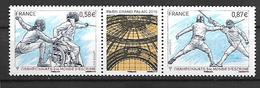 France 2010 - Yv N° 4510 - 4511 ** - Championnat Du Monde D'escrime - France