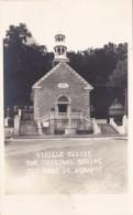 Canada Quebec St Anne De Beaupre Vieille Eglise The Original Shrine Real Photo - Ste. Anne De Beaupré