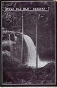 RAR!!! SAO TOME (Trauminsel Am Äquator) - Roça Blu Blu - Cascata, Original Karte Um 1900 - Ansichtskarten