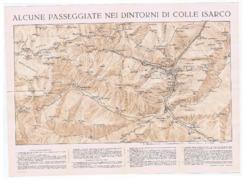 ITALY - COLLE ISARCO ( BOLZANO / Gossensaß ) - MAP - 1920s/30s - Maps
