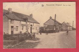 """Macquenoise - Haut Du Village - Café """" Chez Brutus """"  -1939 ( Voir Verso ) - Momignies"""