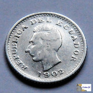 Ecuador - 1/2 Sucre - 1902