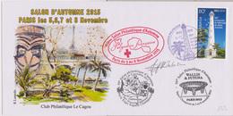 Phares : Nouméa (Nouvelle Calédonie) 150ème Anniv De L'allumage Du Phare Amédée (5 Novembre 2015) - Lighthouses