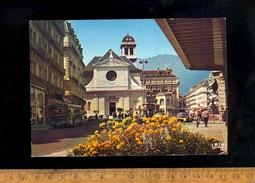 GRENOBLE Isère 38 : L'église Saint St Louis / Autobus Bus - Grenoble