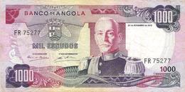 Angola - Pick 103 - 1000 Escudos 1972 - F+ - Angola
