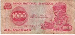 Angola - Pick 113 - 1000 Kwanzas 1976 - G- - Angola