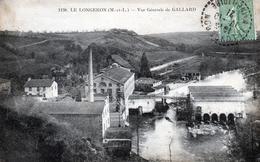 Le Longeron. Vue Générale De Gallard. (Usine). - France