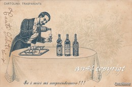 "GUARDARE_OSSERVARE IN TRASPARENZA-CONTROLUCE-""SE I MIEI MI SORPRENDESSERO""-VG 1903-ORIGINALE100% - Controluce"