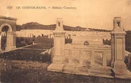Koksijde St-idesbald    Cimetière Militaire  Militair Kerkhof    Military Cemetery     X 47 - Koksijde