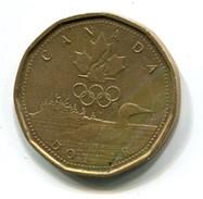 2004 Canada $1 Olympic Loonie Coin - Canada