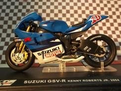 Miniature Moto 1/24 - Suzuki GSV-R (Kenny Roberts Jr 2004) - Motos