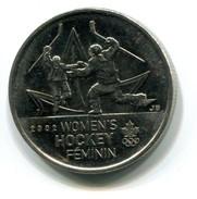 2009 Canada Women's Hockey Commemorative 25c Coin - Canada