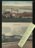 ZWEIBRUCKEN   KASERNE 1 BATI  KASERNE  II BATI CARTE ENVOYER  DES DEUX PONTS  1922 - Zweibruecken