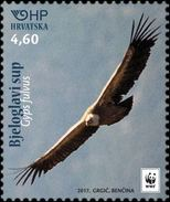 Croatia 2017, Griffon Vulture I-1081, WWF, MNH/** - Unused Stamps