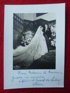 AUTOGRAPHE HELENE D ORLEANS & EVRARD DE LIMBURG STIRUM ARCHIVES MARCEL GUERIN 17.5 X 12.5 - Autographes