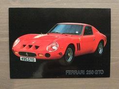 Cartolina In Bianco Anni '90 Ferrari 250 GTO - Grand Prix / F1