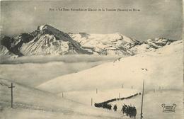 DENT PARRACHEE GLACIER DE LA VANOISE ANIMEE COLONNE HUMAINE - Pralognan-la-Vanoise