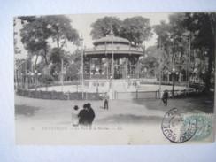 CPA DUNKERQUE Le Parc De La Marine T.B.E. Début 1900 - Dunkerque