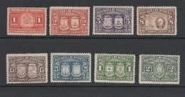Honduras 1946 Air Coats Of Arms Stamp Set.Unmounted Mint. - Honduras