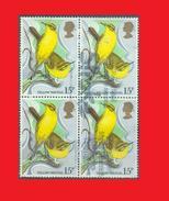 GB UK 1980, Yellow Wagtail /  Bergeronnette Printanière Bird Oiseau - Fine Used - Passereaux