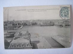 CPA SAINT-NAZAIRE - Le Vieux Bassin T.B.E. Début 1906 Tache - Saint Nazaire