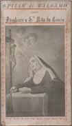 Stille Di Balsamo Ossia Preghiere A Santa Rita Da Cascia - Libretto Di 84 Pagine - Pavia 1927 - Santini