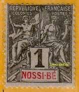 Nossi-Bé 1894 P 27 Avec Charnière