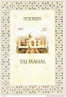 Miniature Sheet On TAJ MAHAL