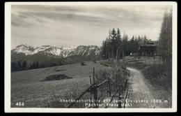 [023] Breitenstein, Speckbacherhütte, Kreuzberg, 1929, Bez. Neunkirchen, Verlag Schneidhofer (Neunkirchen) - Other