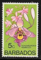 Barbados, Scott # 400 Used Orchid, 1974 - Barbados (1966-...)
