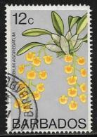 Barbados, Scott # 403 Used Orchid, 1974 - Barbados (1966-...)
